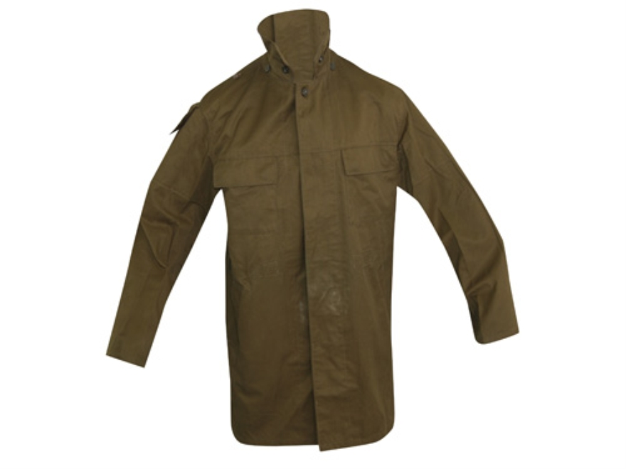Military Surplus Czech M85 Parka with Liner Olive Drab