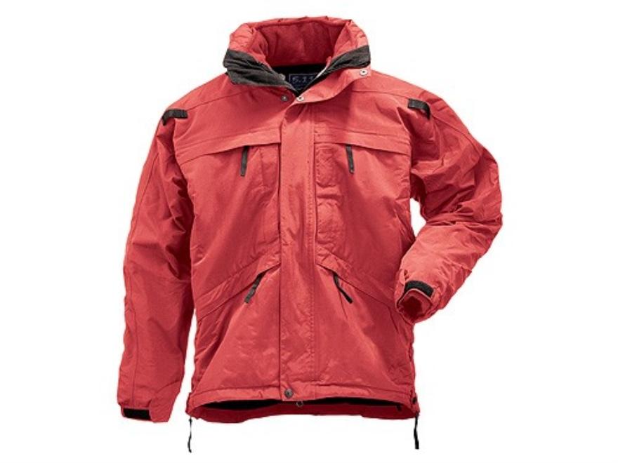 5.11 3-in-1 Tactical Parka Waterproof Nylon Shell, Windproof Polyester Fleece Liner