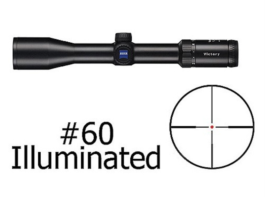 Zeiss VariPoint VM/V Rifle Scope 30mm Tube 1.5-6x 42mm First Focal Illuminated #60 Reticle Matte