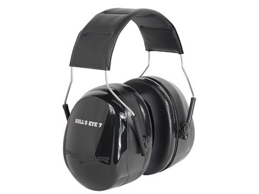 Peltor Bullseye 7 Earmuffs (NRR 27dB) Black