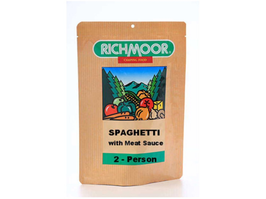 Richmoor Spaghetti with Meat Sauce Freeze Dried Meal 5.25 oz