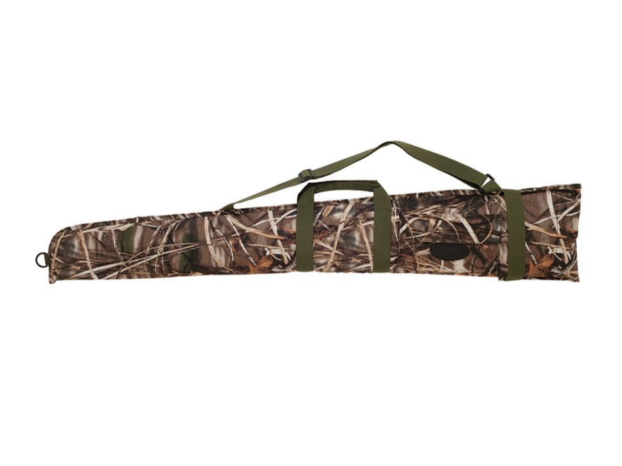 "Boyt Floating Shotgun Gun Sleeve Case 54"" with Pocket Nylon Realtree Max-5 Camo"