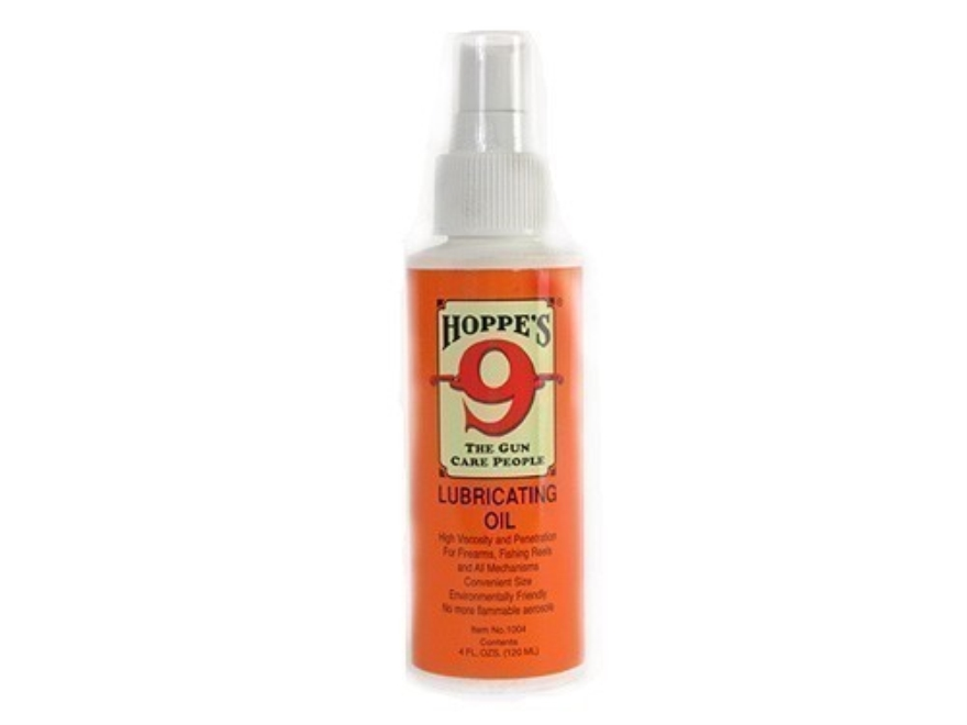Hoppe's #9 Gun Oil 4 oz Pump