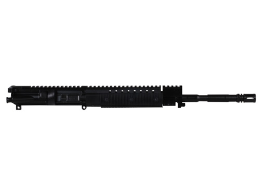 "CMMG AR-15 M4 LEP A3 Flat-Top Upper Assembly 22 Long Rifle 1 in 16"" Twist 16"" Barrel Chrome Moly Matte with Revolution Handguard, Single Rail Gas Block, Flash Hider"