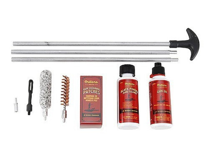 Outers Black Powder Cleaning Kit 50 Caliber