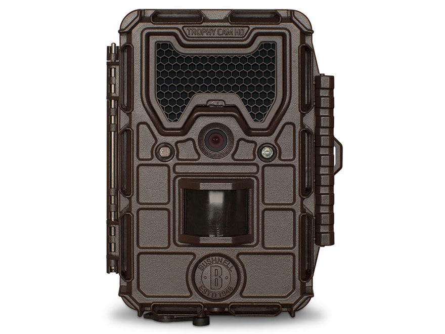 Bushnell Trophy Cam HD Max Black Flash Infrared Game Camera 8 Megapixel Brown