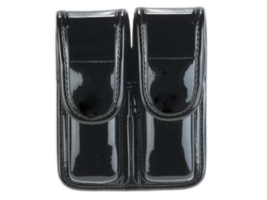 Bianchi 7902 AccuMold Elite Double Magazine Pouch Double Stack 9mm, 40 S&W Hidden Snap ...