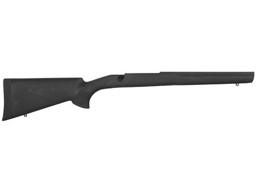 Hogue Rubber OverMolded Rifle Stock Ruger M77 Mark II Long Action Standard Pillar Bed Synthetic Black