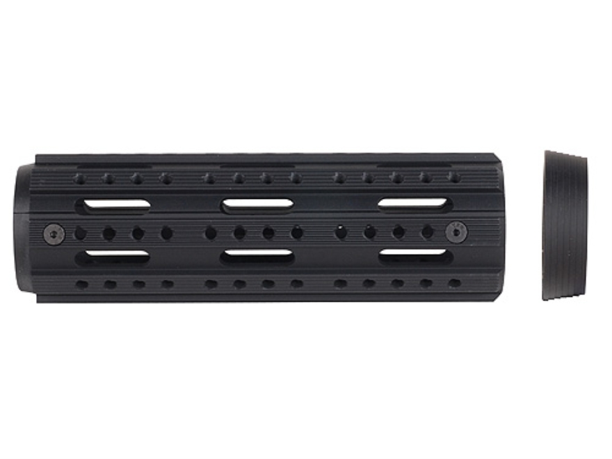 Advanced Technology 2-Piece Modular Rail Handguard 8-Sided AR-15 Aluminum Black