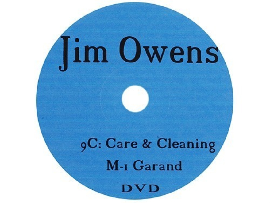 "Jim Owens Video ""M1 Garand Care and Cleaning"" DVD"