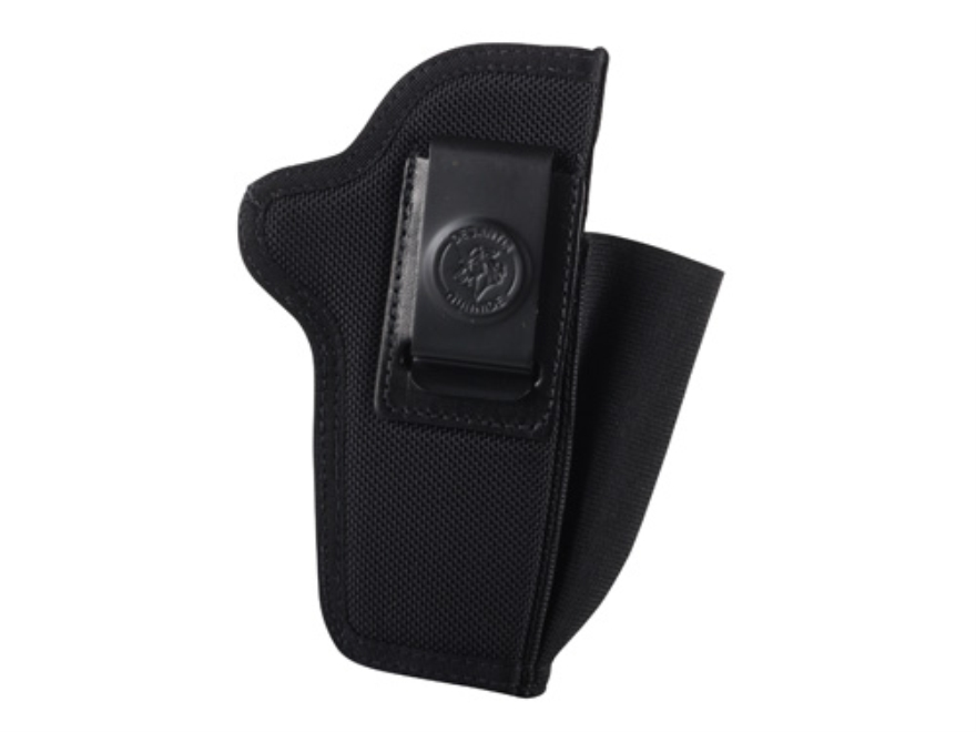 DeSantis Pro Stealth Inside the Waistband Holster Ambidextrous 1911 Government, Commander, Browning High Power Nylon Black