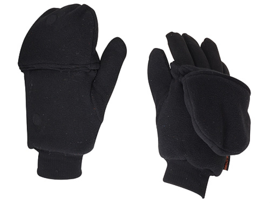 HotHands Heated Mitten Glove Synthetic Blend Black XL