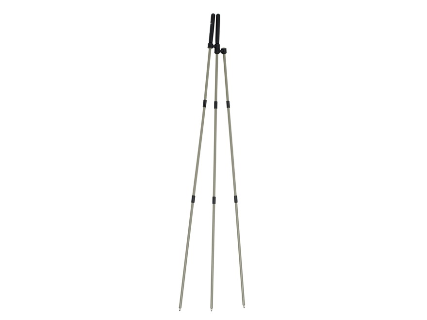"Browning MOA Collapsible Tripod Shooting Sticks 40"" Aluminum Gray"