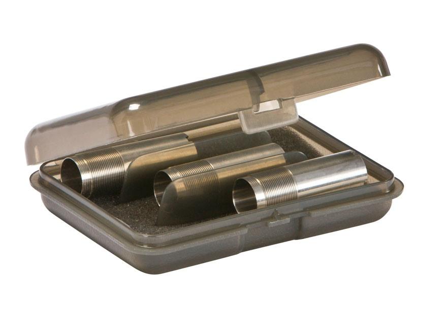 Plano Choke Tube Case 3-Tubes Polymer Smoke