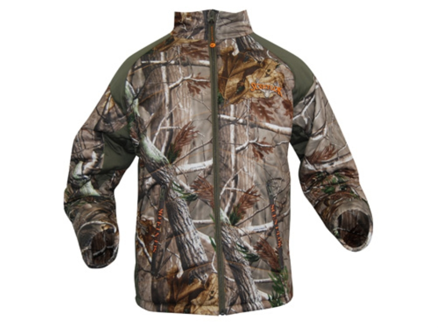 Scent-Lok Men's Hot Shot Insulated Jacket Polyester Realtree AP Camo XL 46-48
