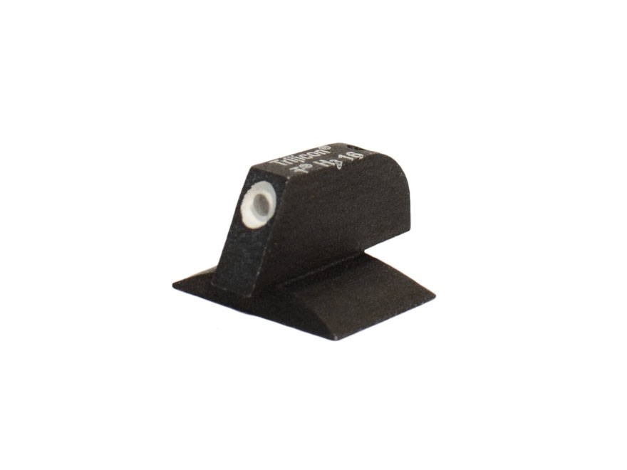 "Kensight Front Night Sight 1911 Novak Cut Contoured Base .115"" Width Steel Black with G..."