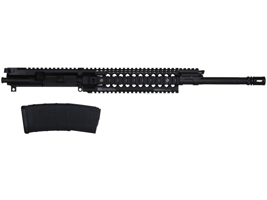 "Barrett AR-15 REC7 A3 Flat-Top Upper Assembly 5.56x45mm NATO 1 in 7"" Twist 16"" Barrel  Chrome Lined Chrome Moly Matte with Omega X Quad Rail Free Float Handguard, Flash Hider"