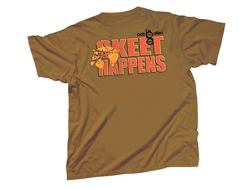 "Bob Allen ""Skeet Happens"" Short Sleeve T-Shirt Cotton"