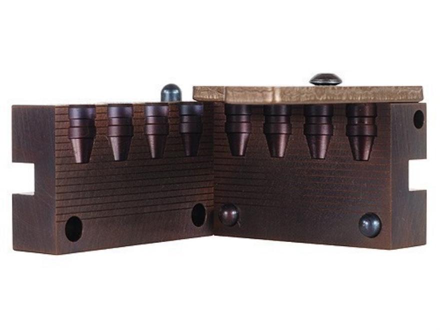 Saeco 4-Cavity Bullet Mold #040 40 S&W, 10mm (401 Diameter) 155 Grain Semi-Wadcutter Bevel Base