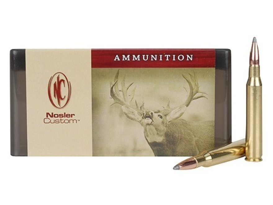 Nosler Custom Ammunition 280 Remington 160 Grain Partition Spitzer Box of 20