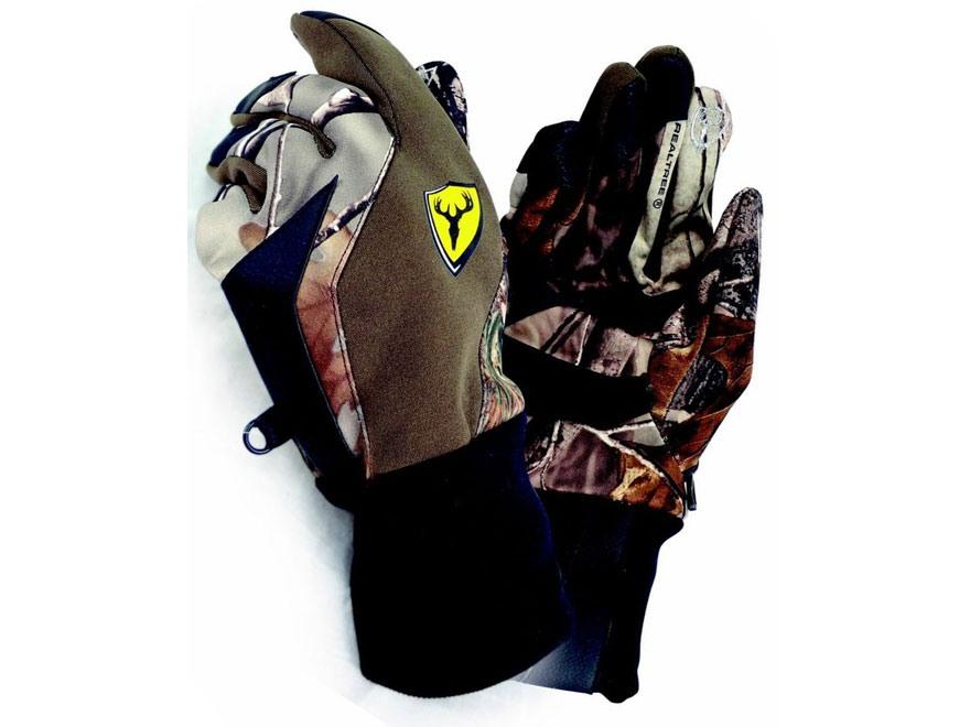 ScentBlocker Ultra-Fit Gloves Polyester Realtree Xtra Camo Medium/Large