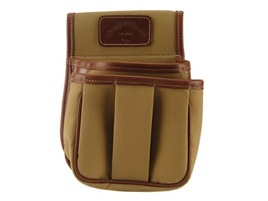 Galco Trap & Skeet Shotgun Shell Pouch Canvas Tan
