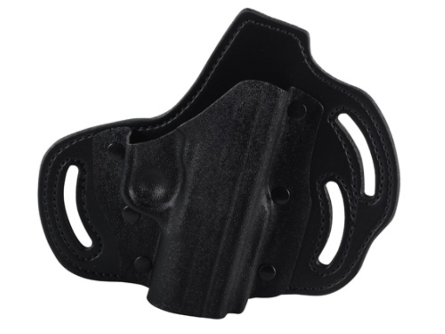 DeSantis Intimidator Outside the Waistband Holster Right Hand Kahr PM45 Kydex and Leath...