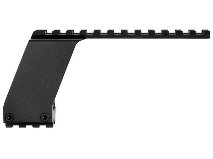 Osprey Weaver-Style Scope Mount for Pistols with Accessory Rail Matte