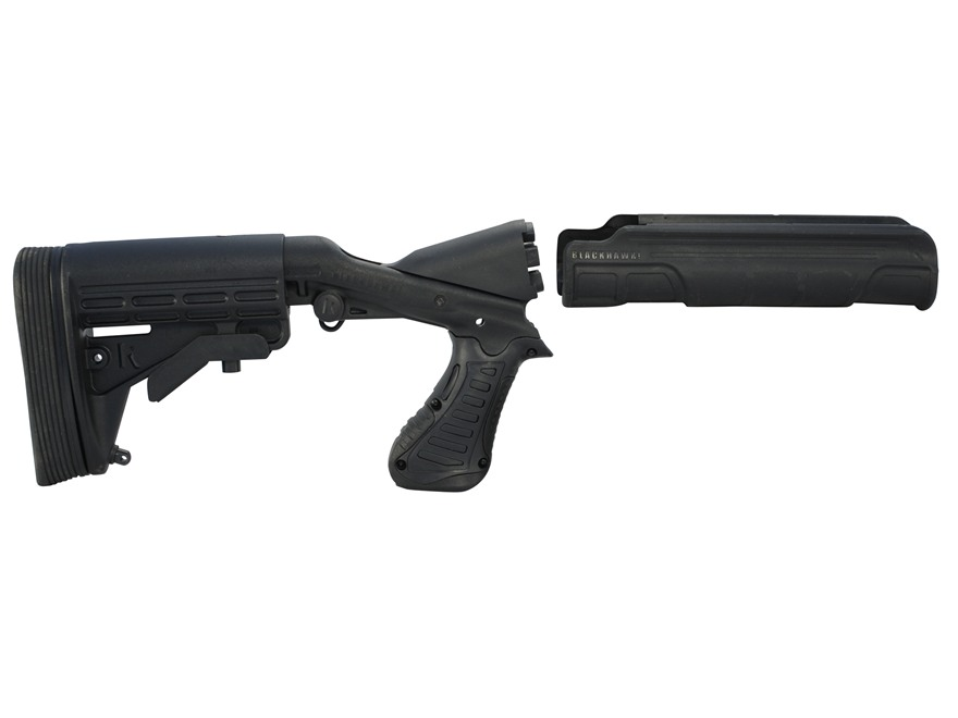 Blackhawk Knoxx SpecOps Gen 2 Adjustable Length of Pull Recoil Reducing Stock with Forend Remington 870 12 Gauge Synthetic Black
