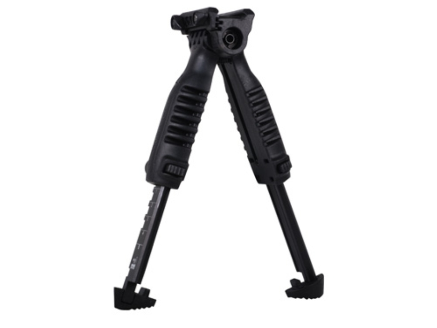 Mako T-Pod Vertical Forend Grip with Bipod and Quick Release Mount Polymer Black