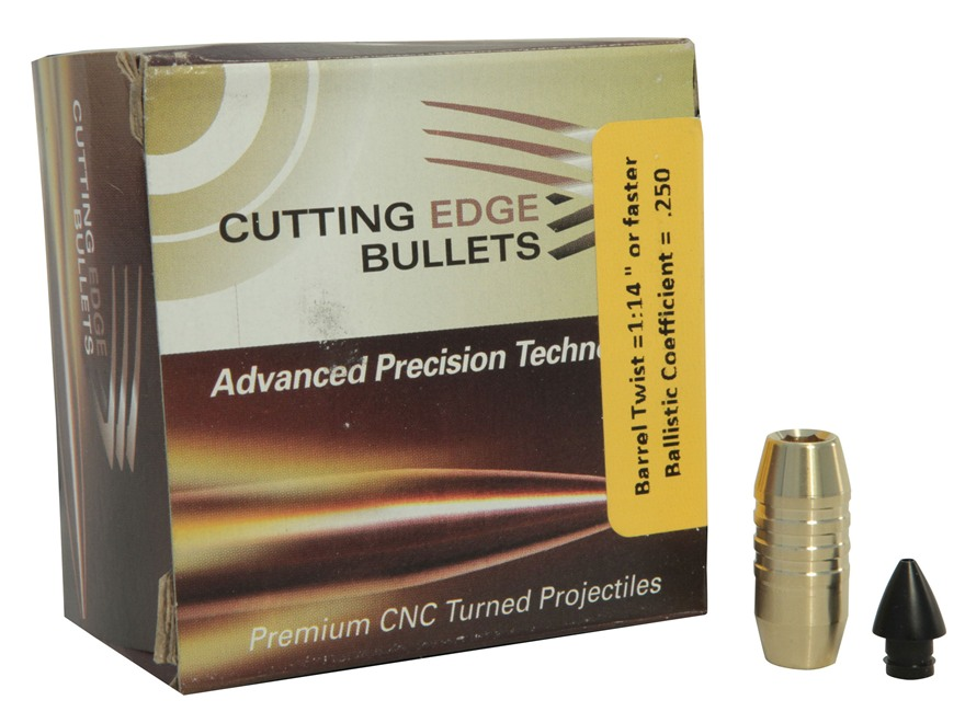 Cutting Edge Bullets ESP Raptor Bullets 458 Caliber (458 Diameter) 300 Grain Enhanced System Projectile Boat Tail Copper Lead-Free Box of 20
