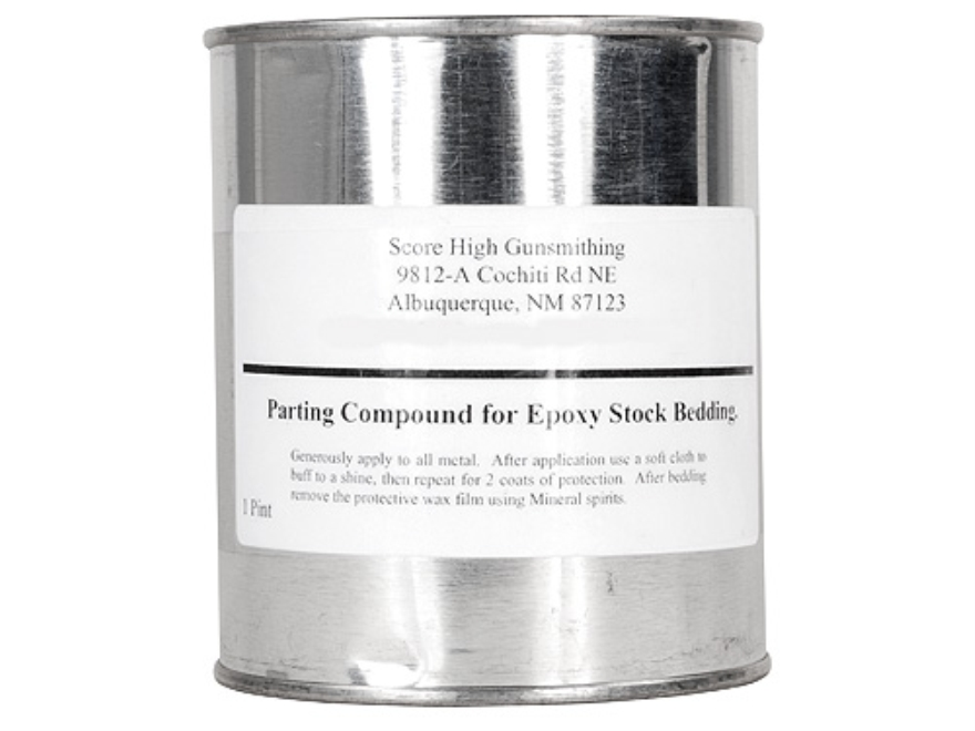 Score-High Glass Bedding Release Compound
