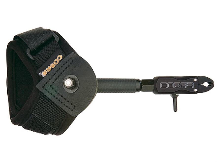 Cobra Bravo EV1 Bow Release Hook-&-Loop Fastener Wrist Strap Black