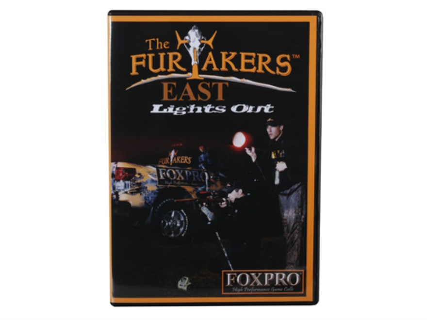 "FoxPro Furtakers Volume 3 ""Lights Out"" Predator Video DVD"