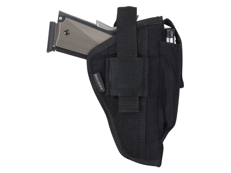 Bulldog Extreme Belt and Clip Holster Ambidextrous Beretta 92, Browning Hi-Power, 1911,...