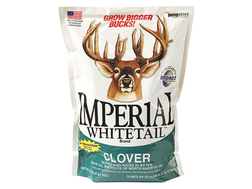 Whitetail Institute Imperial Clover Perennial Food Plot Seed