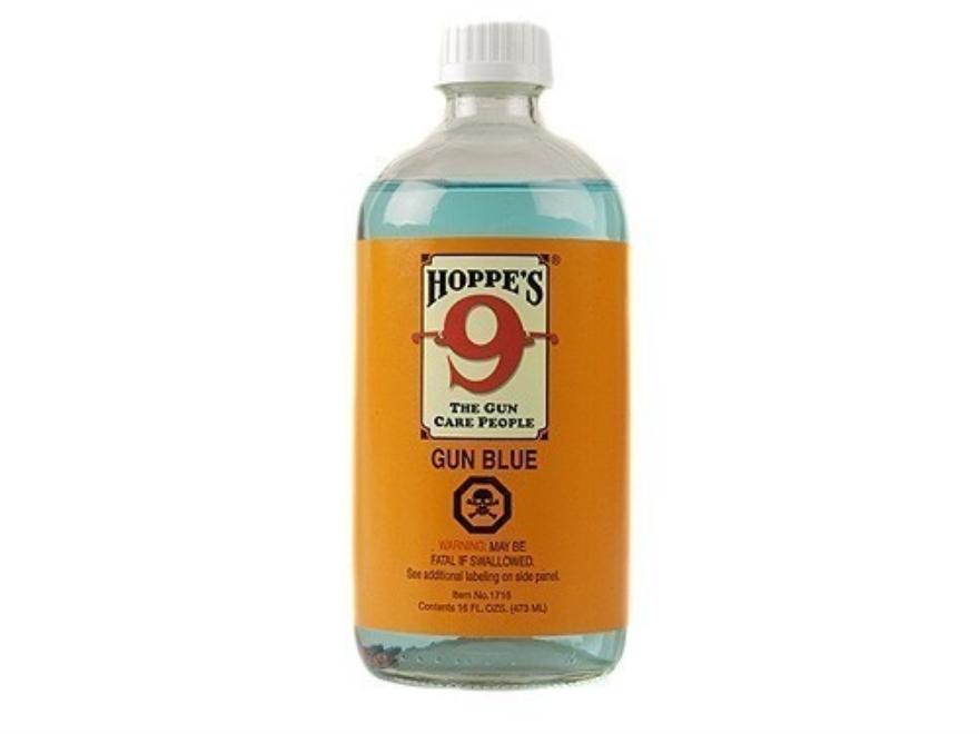 Hoppe's #9 Gun Blue Cold Blue 16 oz Liquid