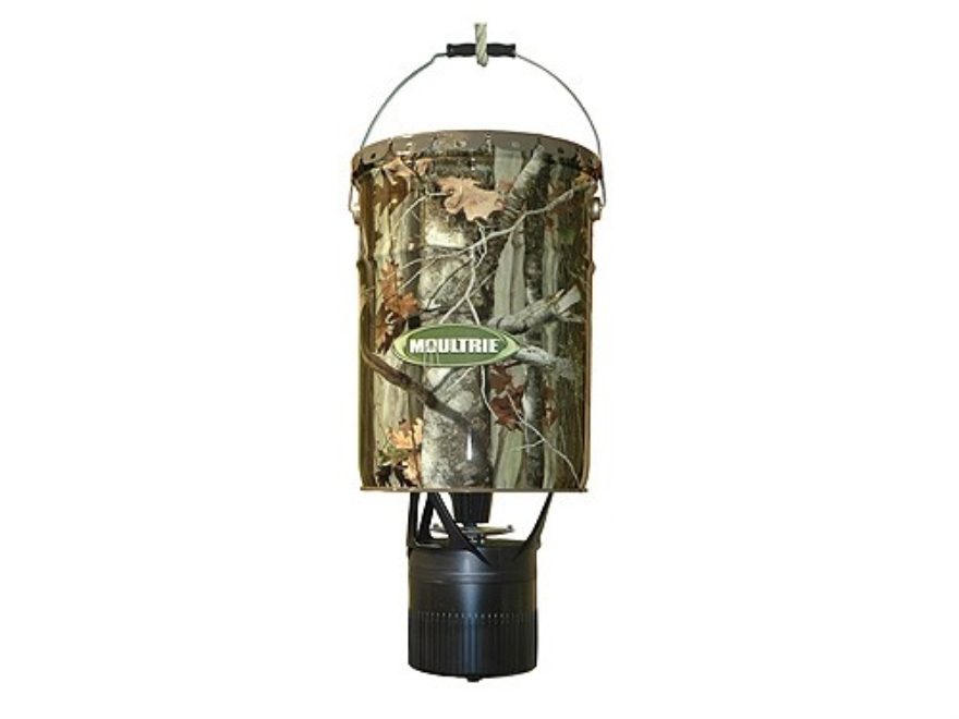 Moultrie Econo Plus Hanging Game Feeder 6.5 Gallon Polymer Camo