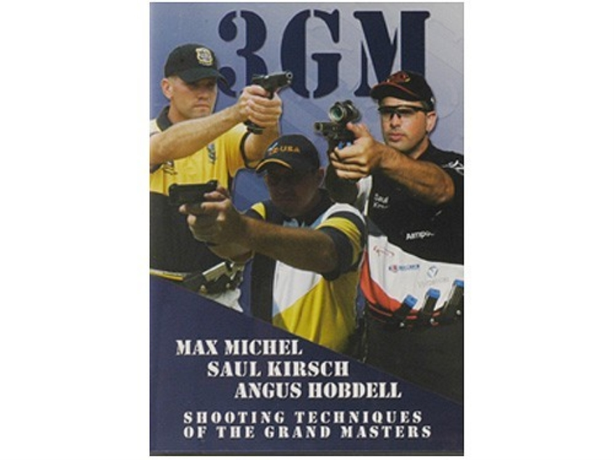 "CED Video ""3GM: Shooting Techniques of the Grand Masters"" DVD"