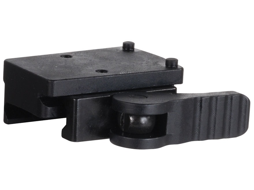 American Defense AD-RMR Mini Quick-Release Trijicon RMR Mount Right Hand Picatinny-Style AR-15 Flat-Top Matte