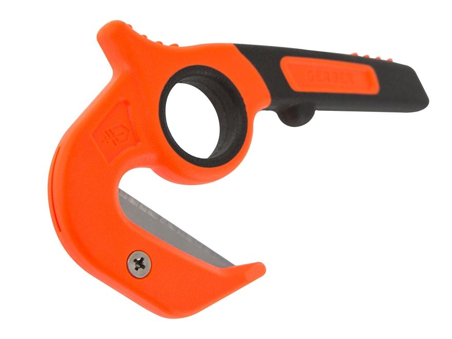 """Gerber Vital Zip 1.7"""" Stainless Steel Blade ABS Handle Orange and Black"""