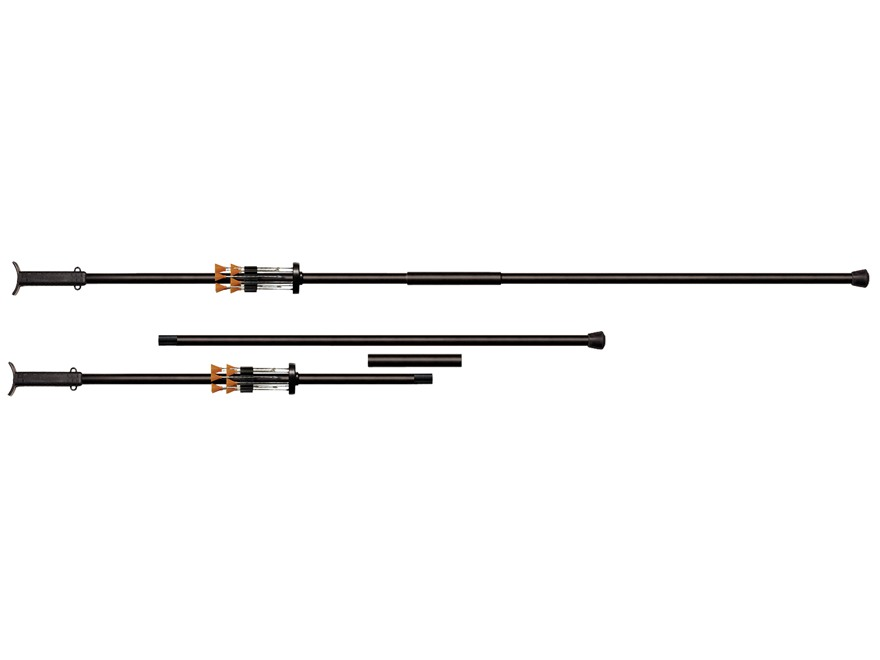 Cold Steel .625 Caliber Blowgun 5 Foot Two Piece Aluminum Black