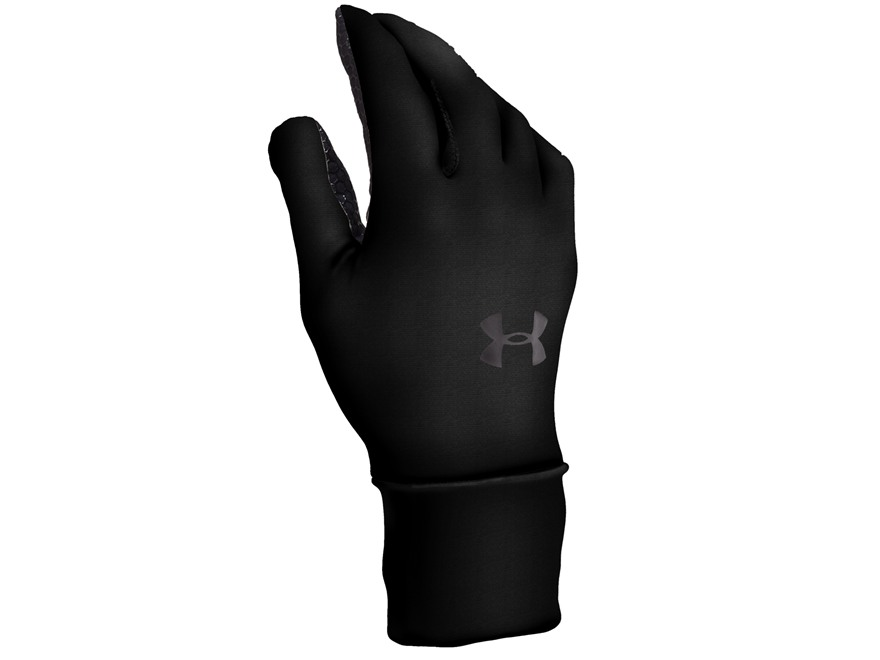 Under Armour UA ColdGear Liner Gloves Synthetic Blend Black XL