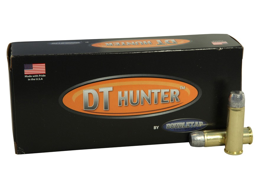 Doubletap Ammunition 454 Casull 400 Grain Hard Cast Solid Wide Flat Nose Gas Check Box of 20