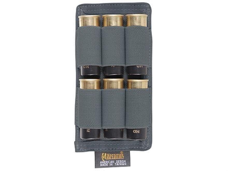 Maxpedition Vertical Shotgun Shotshell Panel 6-Round