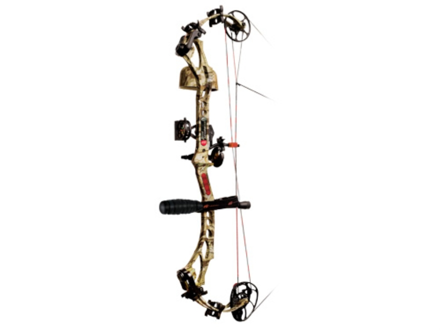 "PSE Bow Madness XL RTS Compound Bow Package Right Hand 60-70 lb. 25""-30"" Draw Length Mossy Oak Break-Up Infinity Camo"