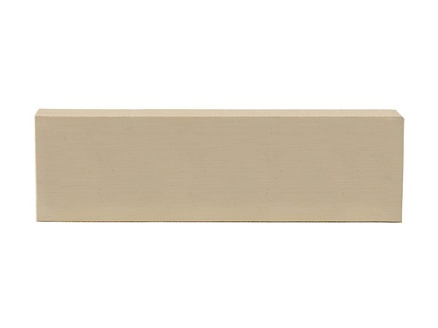 "Tru Ivory Knife Handle Scale Blank 5"" Length 1-1/2"" Width 3/8"" Thick Polymer Ivory White"