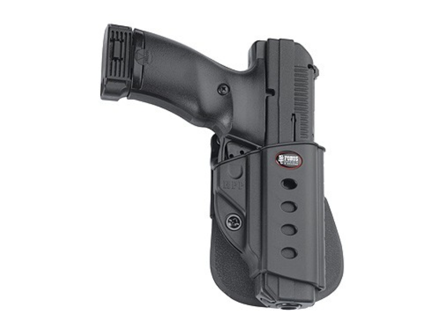 Fobus Evolution Roto Paddle Holster Right Hand H&K USP Full Size 45 ACP, Tactical Polymer Black