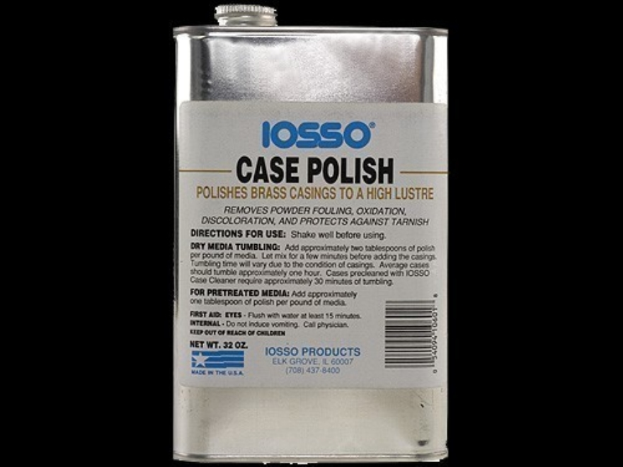 Iosso Brass Case Polish
