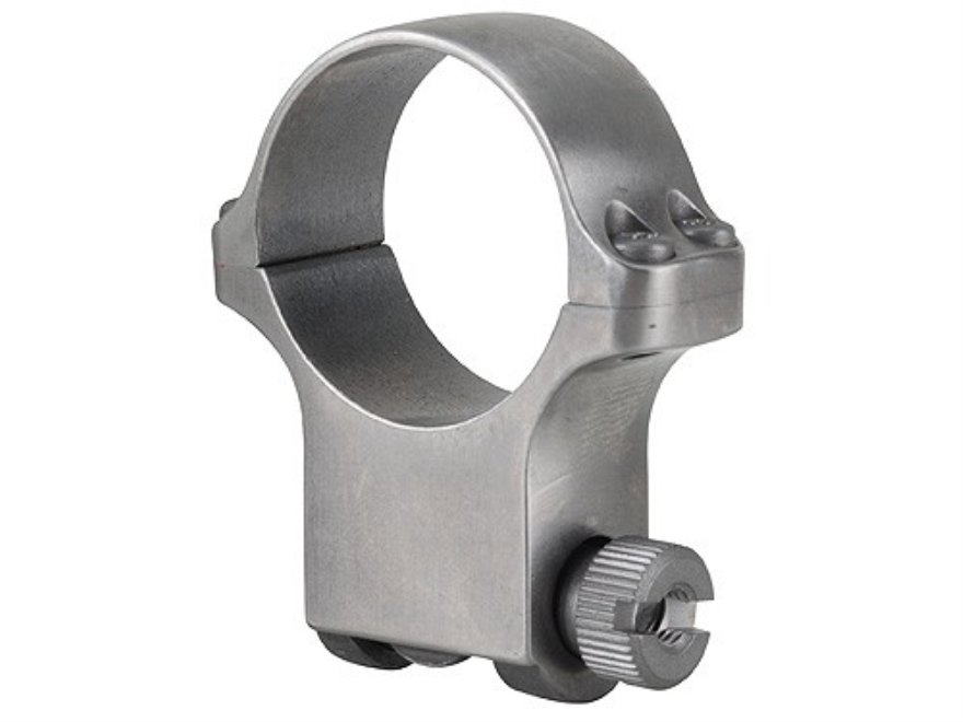 Ruger 30mm Ring Mount 6K30 Silver Extra-High